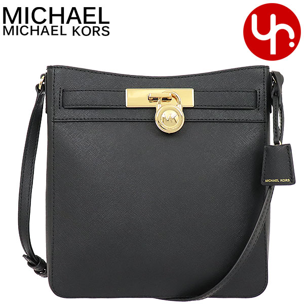 Price YR limited at Michael Kors MICHAEL KORS bag shoulder bag 35T8GHXM0L black special Hamilton leather traveler NS messenger outlet article