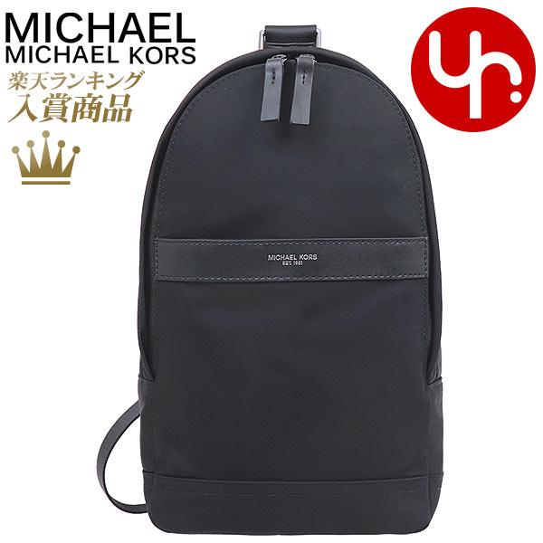 マイケルコース MICHAEL KORS バッグ ショルダーバッグ 37H7LKNC6C ブラック 特別送料無料 ケント ナイロン スリングパック アウトレット品メンズ レディース ブランド 通販 斜めがけ 2020 母の日 あす楽