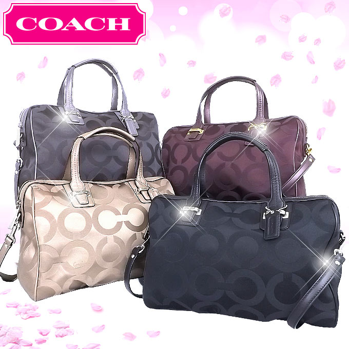 And Writing Coach Reviews Bags Handbags F25503 Gray Taylor Op Art Signature Satchel Outlet Product Women S