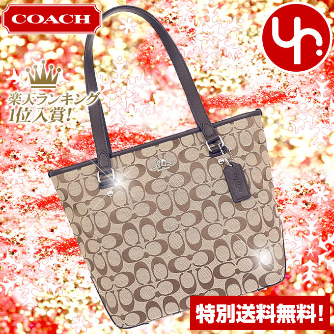 b5f5aadf3702 Coach COACH bag tote bag review and write F36375 coach 12 CM signature zip  top Tote small products at outlet prices cheap womens brand sale store SALE  ...