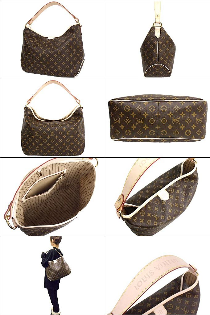 f528f4b7293 Louis Vuitton LOUIS VUITTON ★ bag (shoulder bag) M40352 Monogram delightful  PM DELIGHTFUL PM Monogram discount % Women's back