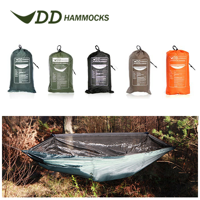 DDハンモック DDフロントラインハンモック 蚊帳付き キャンプ 屋外 アウトドア コンパクト DD Hammocks ddハンモック 送料無料