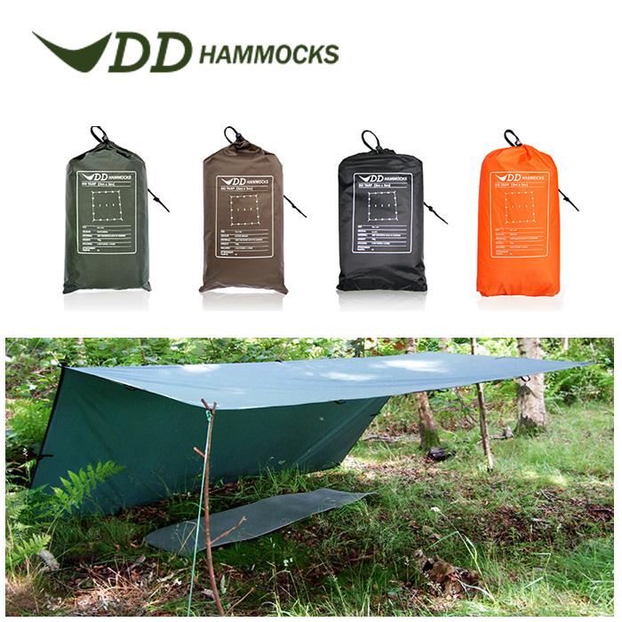 DDハンモック DDタープ 3m X 3m タープテント 日よけ シェード サンシェード テント おしゃれ Tarp DD Hammocks ddハンモック ddタープ 送料無料