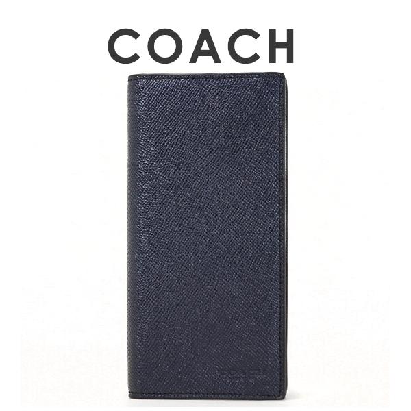 コーチ COACH メンズ 長財布 F59109 BHP(ミッドナイトネイビー)【FKS】