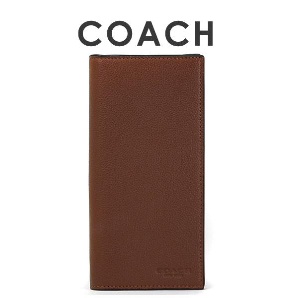 コーチ COACH メンズ 財布 長財布 F75009 CWH(ダークサドル)