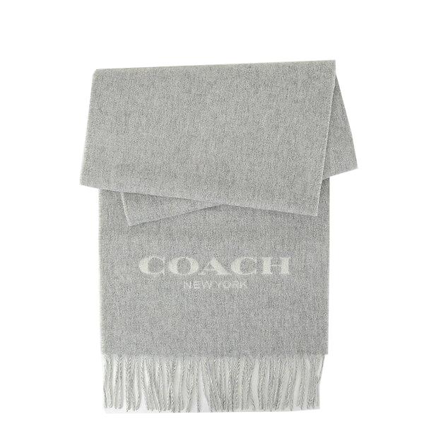 コーチ COACH レディース 小物 アパレル マフラー F56209 LF7(ライトグレー×チョーク)