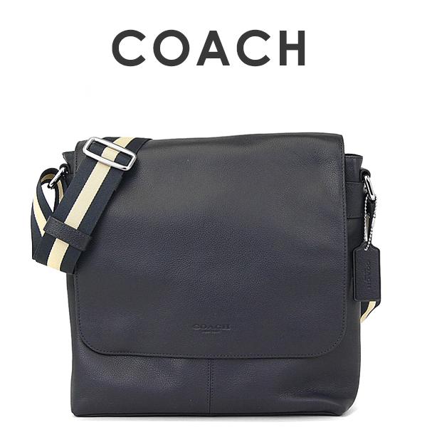 コーチ COACH メンズ ショルダーバッグ F72362 MID(ミッドナイト)