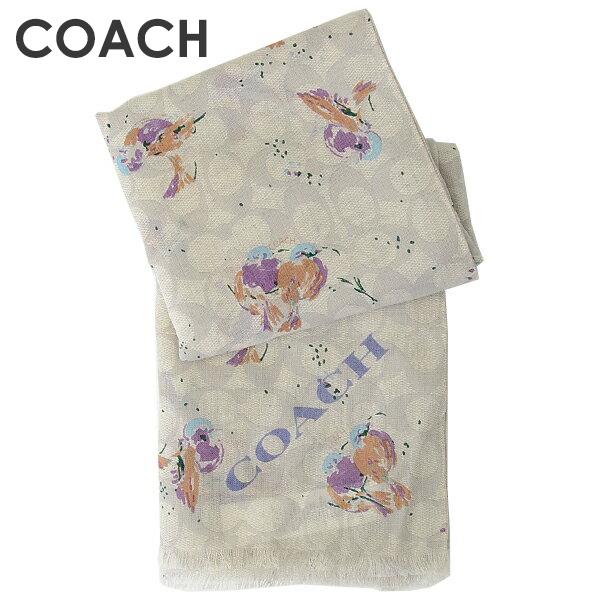 コーチ COACH レディース ストール 23787 CAH(チョークマルチ)