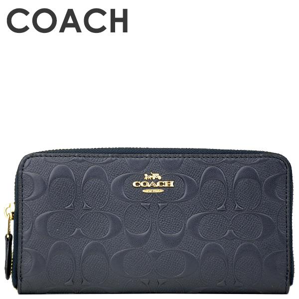 コーチ COACH レディース 財布 長財布 F27865 IMMID(ミッドナイト)