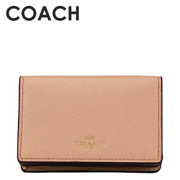 コーチ COACH レディース 小物 カードケース 名刺入れ F57860 IMEQO(ビーチウッド)【FKS】