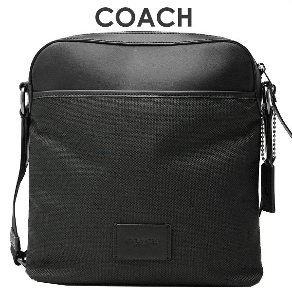 コーチ COACH メンズ バッグ ショルダーバッグ F37609 QB/BK(ブラック)