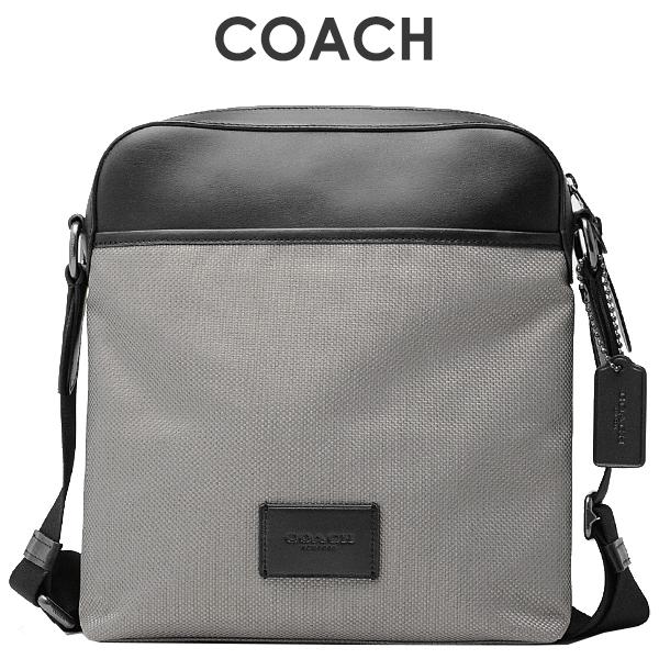 コーチ COACH メンズ バッグ ショルダーバッグ F37609 QBHGR(ヘザーグレー)