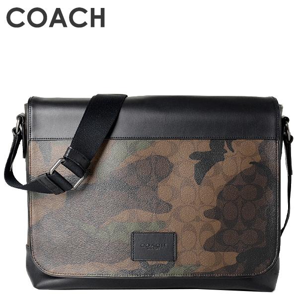 コーチ COACH メンズ バッグ ショルダーバッグ F37612 QBGRU(グリーンマルチ)