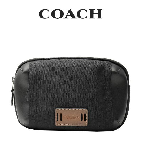 コーチ COACH メンズ バッグ ボディバッグ F37813 QBBK(ブラック)