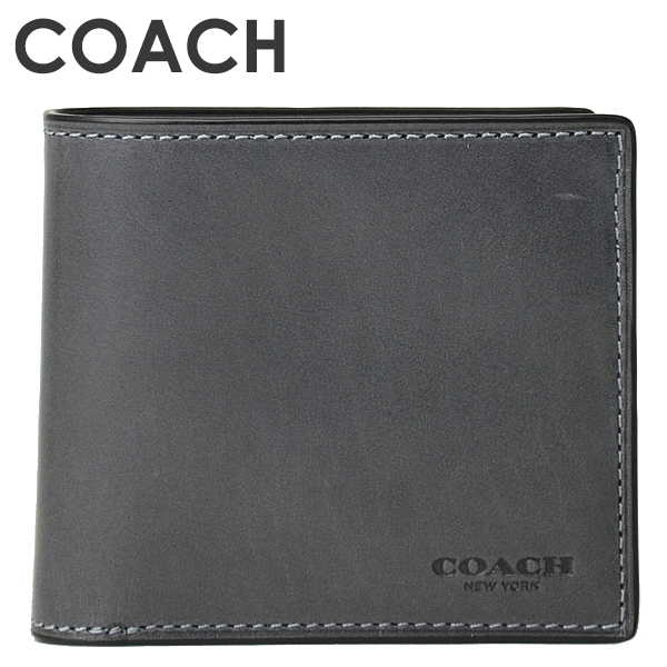 コーチ COACH メンズ 二つ折り財布 58397B GPH(グラファイト)