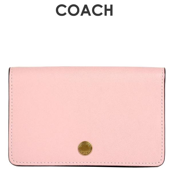 コーチ COACH レディース 小物 カードケース 名刺入れ 31865 B4AOM(ブラス×ブロッサム)