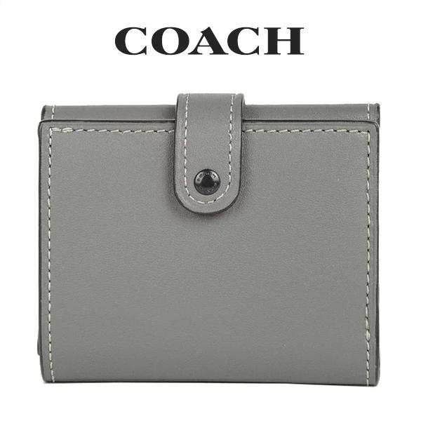 コーチ COACH レディース 財布 ミニ財布 三つ折り財布 58851 BPHGR(ヘザーグレー)