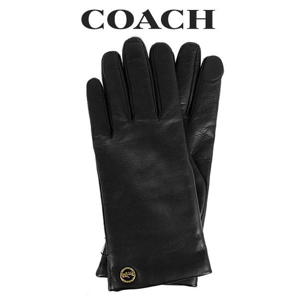 コーチ COACH レディース 小物 手袋 (サイズ7/サイズ7 1/2) F76310 BLK(ブラック)【FKS】