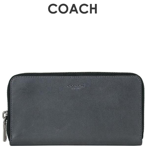 コーチ COACH メンズ 財布 ラウンドジップ長財布 長財布 20957 GPH(グラファイト)【FKS】