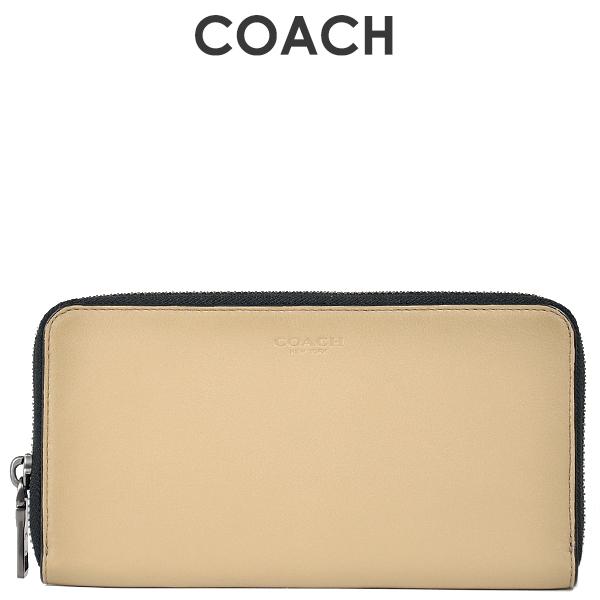コーチ COACH メンズ 財布 長財布 20957 LKH(ライトカーキ)