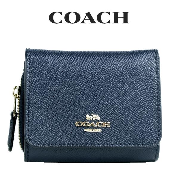 コーチ COACH レディース 財布 ミニ財布 三つ折り財布 F37968 IMMID(ミッドナイト)