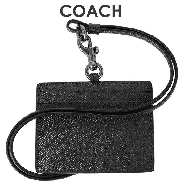 【メール便送料無料】コーチ COACH メンズ 小物 カードケース IDケース F79884 QB/BK(ブラック)【FKS】
