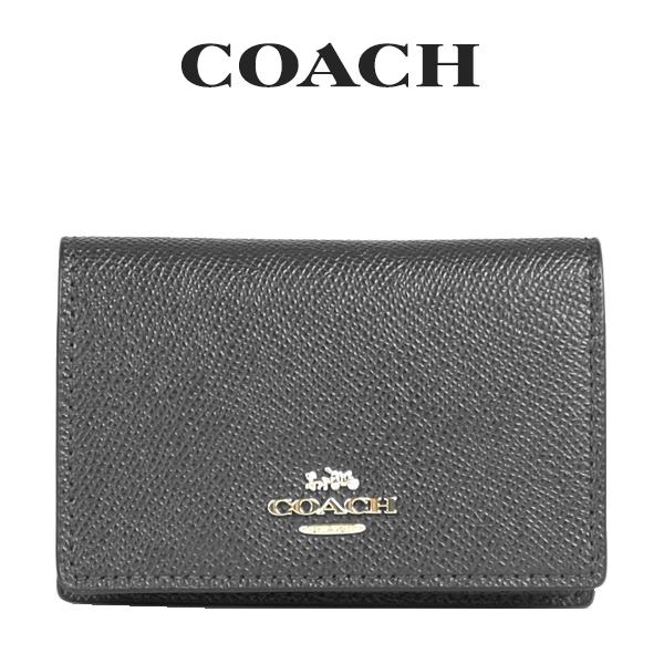 コーチ COACH レディース 小物 カードケース 名刺入れ 87731 IMBLK(ブラック)【FKS】