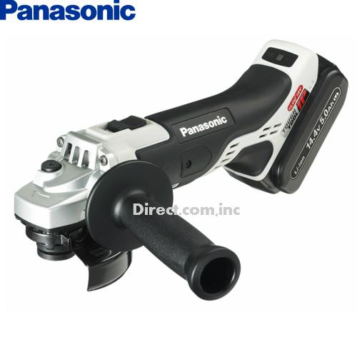 パナソニックPanasonic18V3.0Ah 100mm充電ディスクグラインダーEZ46A1PN2G-H 【フルセット】【H02】