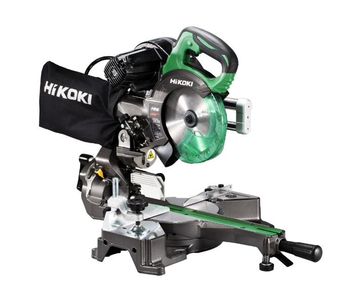 HiKOKI[日立工機] レーザーマーカー付165mm卓上スライド丸のこC6RSHD 【H02】
