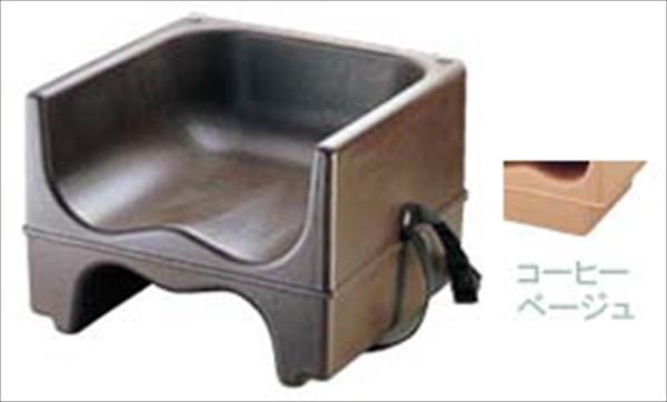 CAMBRO キャンブロブースターシート ストラップ付 200BCS コーヒーベージュ 6-2268-0605 UBC065