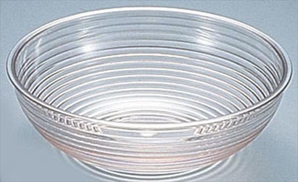 CAMBRO キャンブロ 丸型リブタイプサラダボール [RSB23CW (クリアー)] [7-1601-0316] LSL11231A