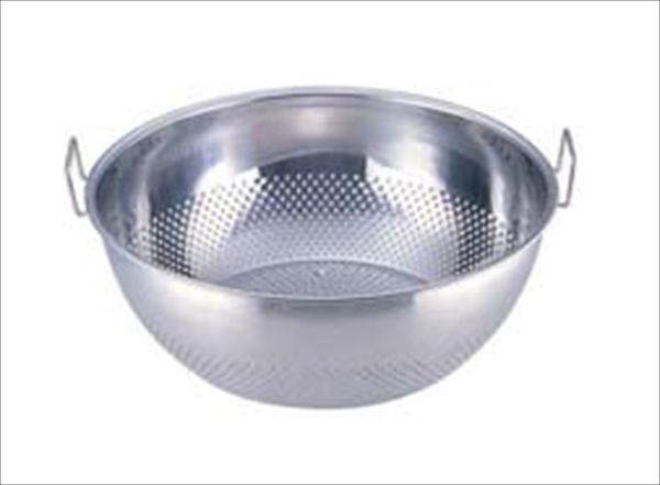 三宝産業 UK18-8パンチング 手付浅型ザル [37.5] [7-0250-0903] AAS1203