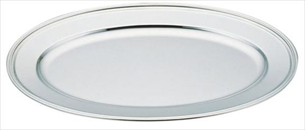三宝産業 UK18-8 B渕小判皿 [48インチ(魚皿兼用)] [7-1621-0314] NKB05048