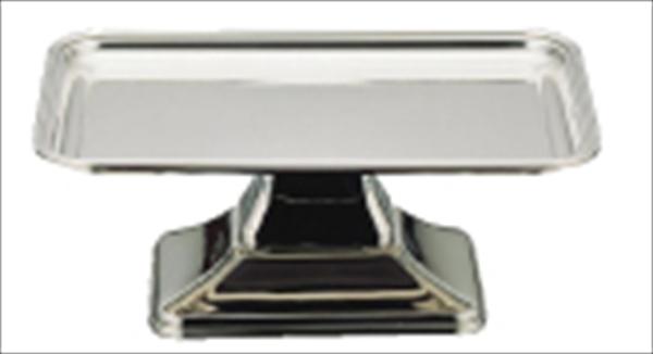 三宝産業 UK 18-8バロン角型ケーキコンポート [14インチ] [7-1636-0901] PKC12014