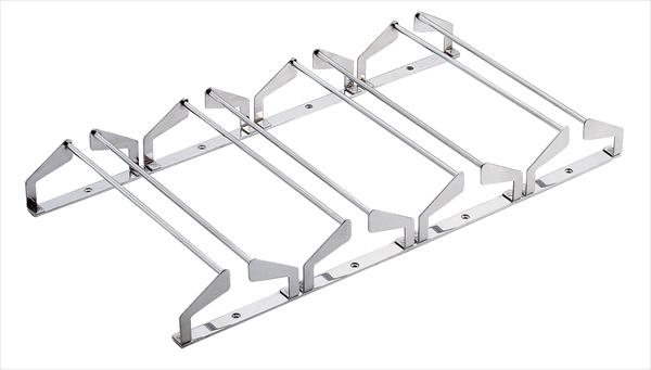 三宝産業 18-8 ユニットグラスハンガー [4連 YT10003] [7-2173-0501] PHV2401