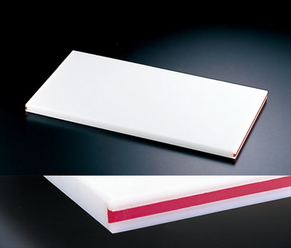 住ベテクノプラスチック 住友 抗菌スーパー耐熱まな板 カラーライン付 SSTWL 赤 6-0329-0310 AMNB917