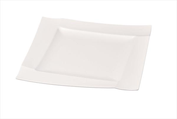 若泉漆器 メラミン渕付角盛皿 中 6-1500-1102 NWK1202