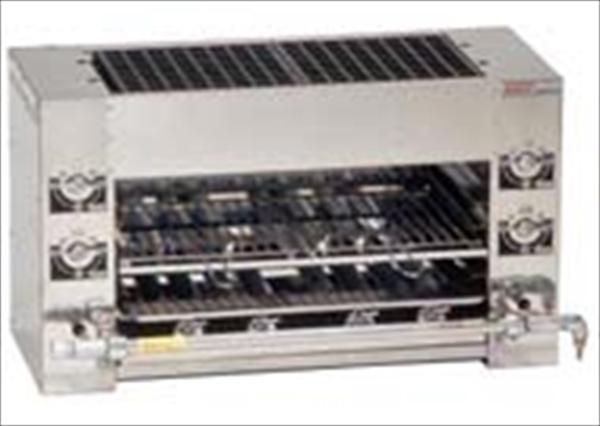 伊藤産業 ガス式 両面式焼物器 KF-W LPガス 6-0672-0301 DYK521