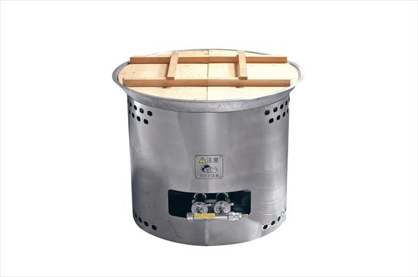 伊藤産業 ガス式かまど かまどくん 平釜タイプ KFE-80 LPガス 6-0904-0401 GKM0701