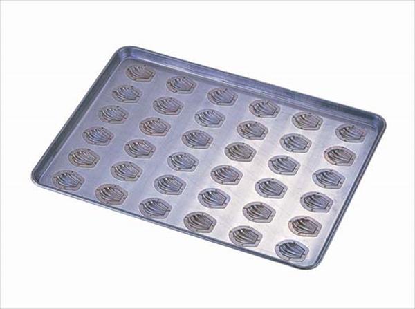 千代田金属工業 シリコン加工 貝型マドレーヌ型天板 小 (36ヶ取) 6-0986-0601 WTV6801