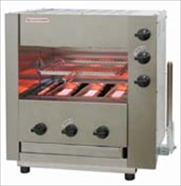 アサヒサンレッド ガス赤外線同時両面焼グリラー 「武蔵」 SGR-33EX LPガス 6-0667-0401 DGLD101