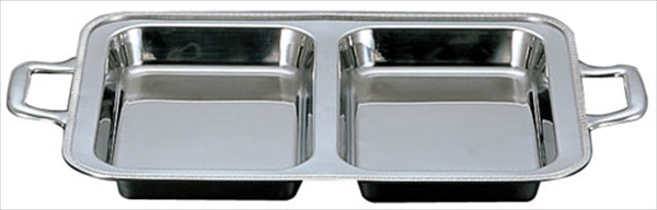 三宝産業 UK18-8ユニット角湯煎用 [フードパン ダブル 24インチ] [7-1527-0602] NYS1924