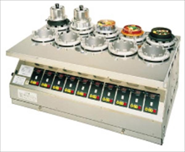 直送品■大貴産業 マイコン式全自動釜めし炊飯機タイテックス [TDMWS-10型 LPガス] [7-0735-0101] DKM161