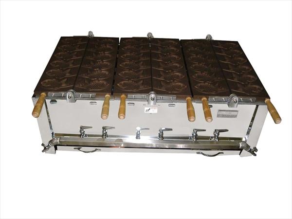 猪狩製作所 鯛焼器 EGT-4 都市ガス 6-0884-0206 GTI016