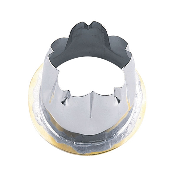 遠藤商事 18-8穴クリ芯抜型 外仕上げ用 [桜 50用] [7-0522-0607] BNKD707
