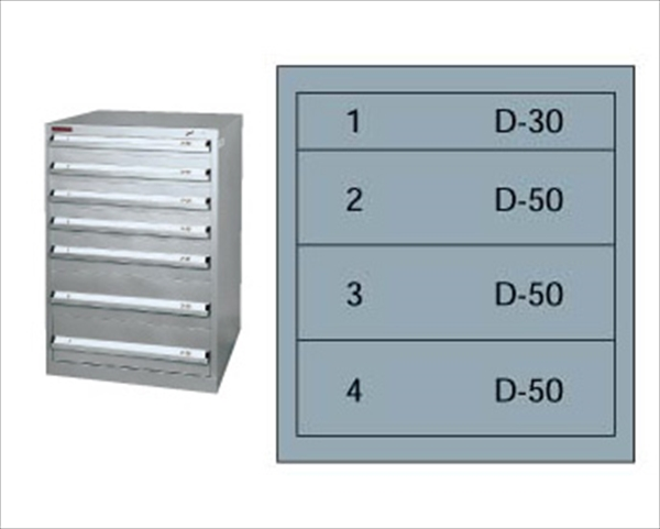 直送品■ムラテックKDS []  SLC-1801 シルバーキャビネット [7-0757-1901] HSL01