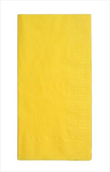 HARADA カラーナプキン 8ッ折(2000枚入) [45 2P レモン] [7-1466-1001] PNP0501