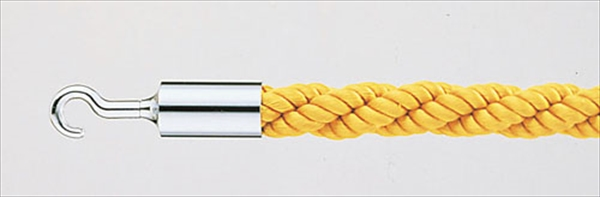 大和金属製作所 パーティションロープ Aタイプ 30C イエロー 6-2324-0901 ZPC39