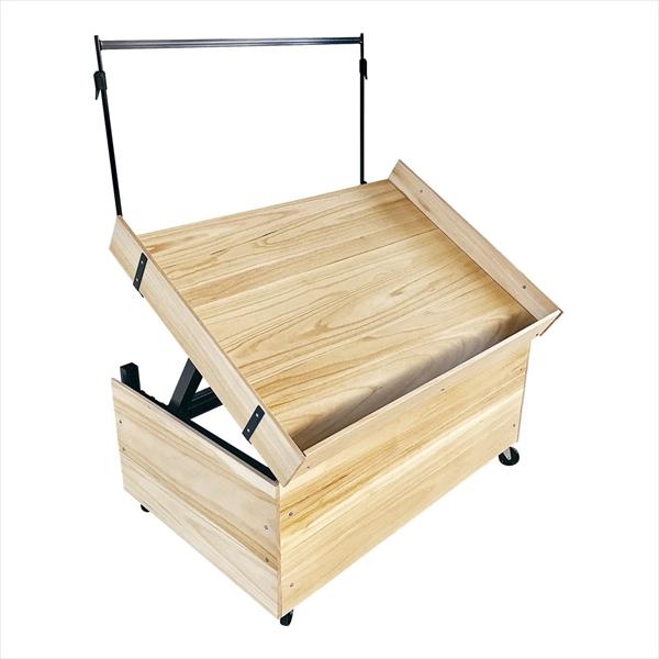 直送品■扶桑産業 ディスプレイテーブル(天板桐材仕様) [900セット] [7-1130-0401] HHS1401