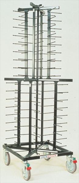 ヴォルラース プレートディスペンサー(移動式) [ジャックスタック JS072] [7-1134-0401] HZY05